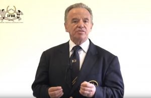 IFBB President - Dr Rafael Santonja speaks