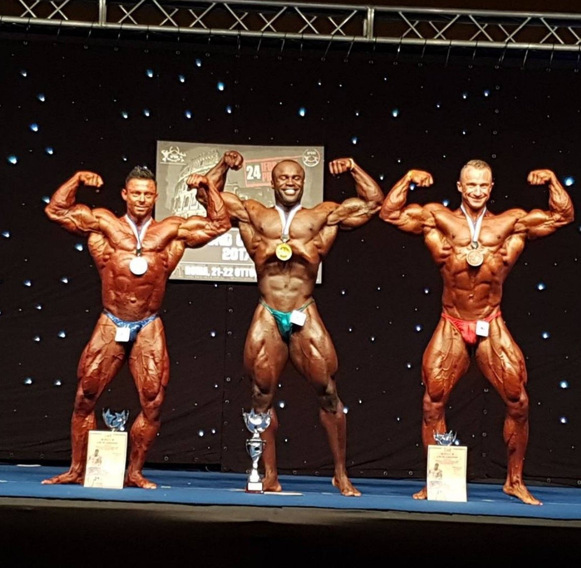 RESULTS: 2017 IFBB Diamond Cup - Rome - Evolution of