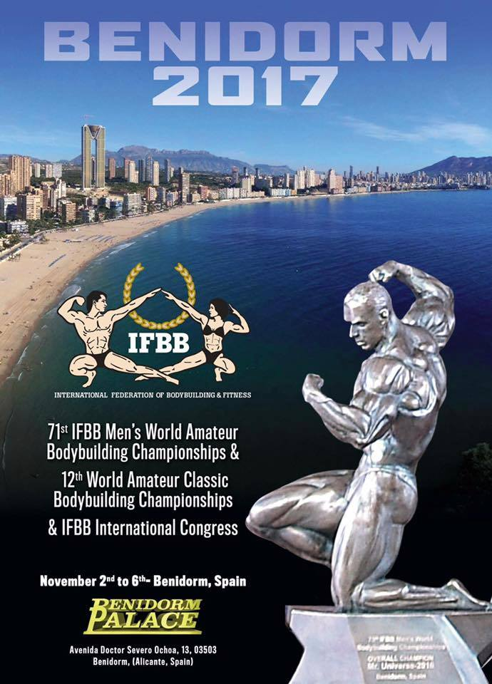 PHOTOS: 2017 IFBB World Amateur Bodybuilding Championships