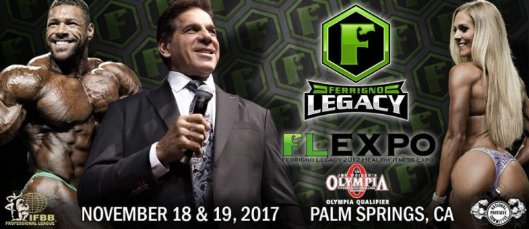 Official Competitors List: 2017 IFBB Ferrigno Legacy