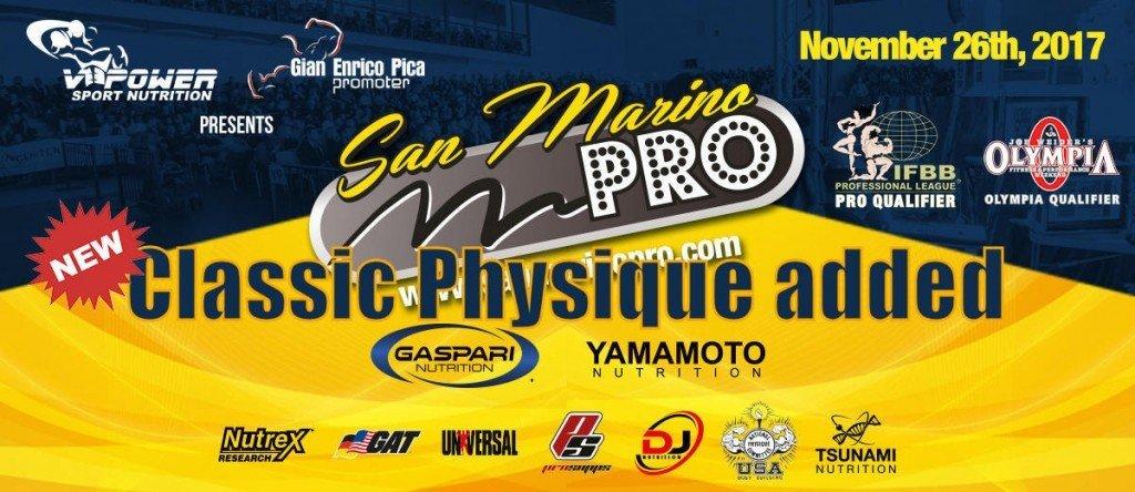 2017 IFBB San Marino Pro