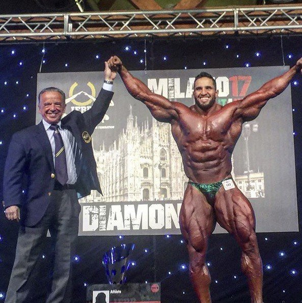 2017 IFBB Diamond Cup Milan