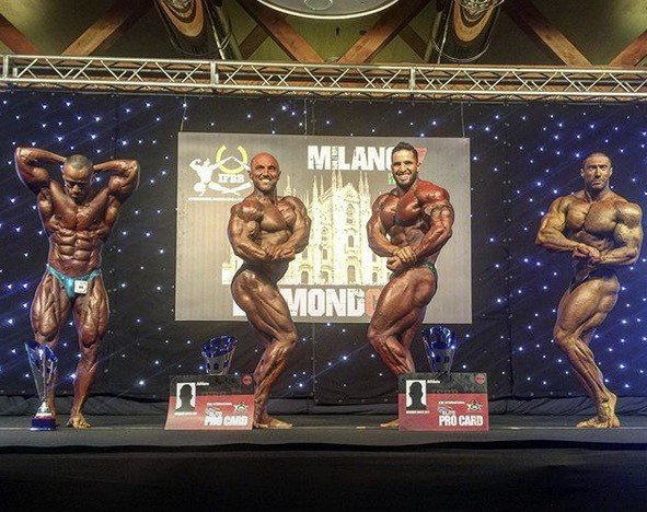 2017 IFBB Diamond Cup - Milan