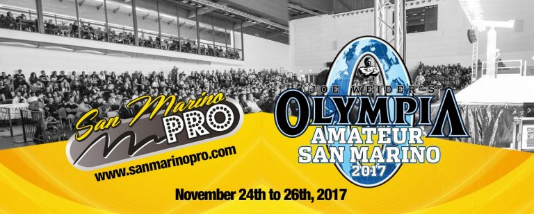 RESULTS: 2017 Olympia Amateur San Marino