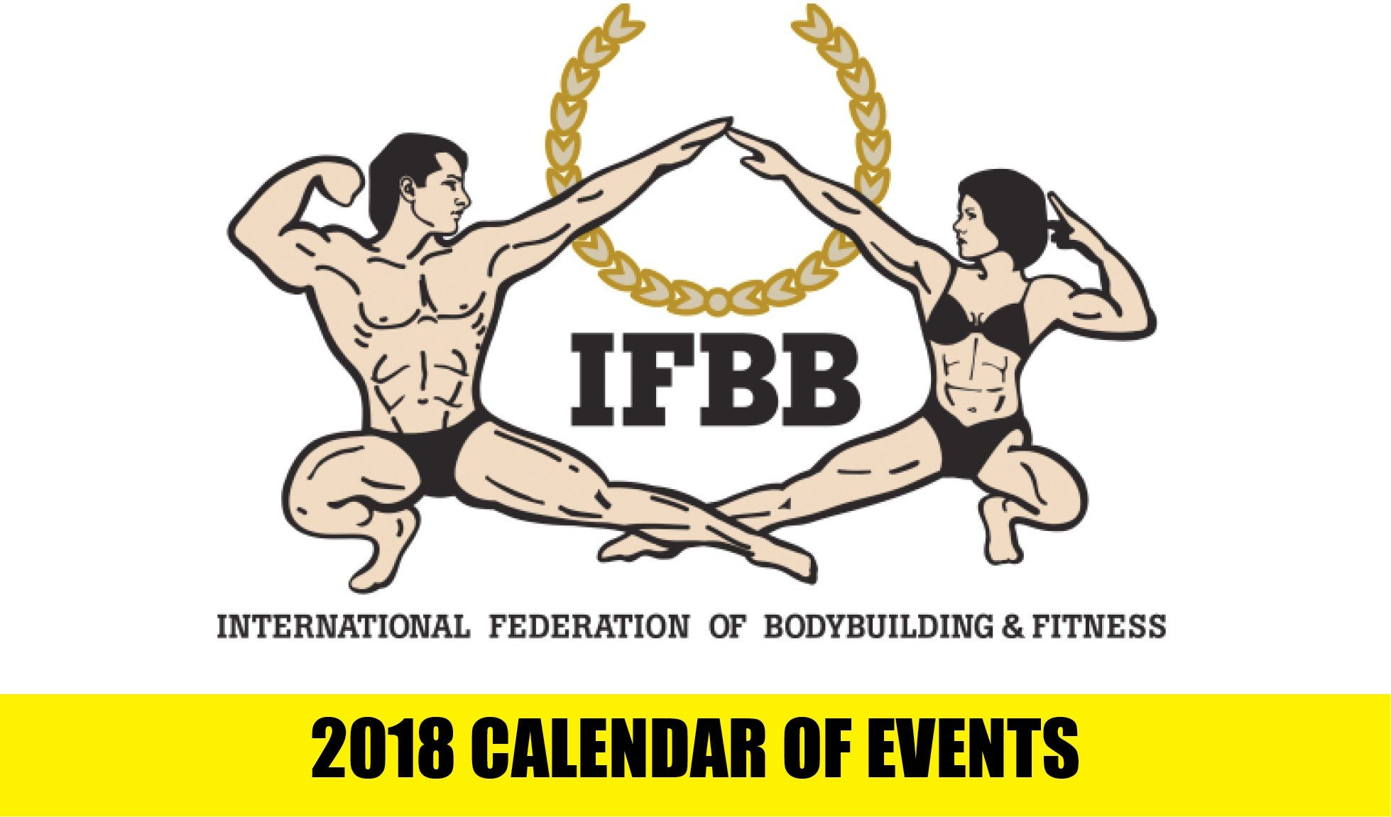 2018 IFBB Events Schedule