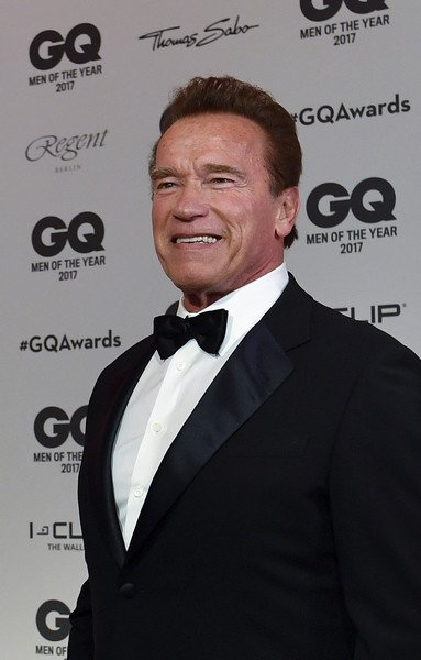 Arnold Schwarzenegger - GQ Award