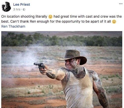 Lee Priest - Tropfest Film Festival