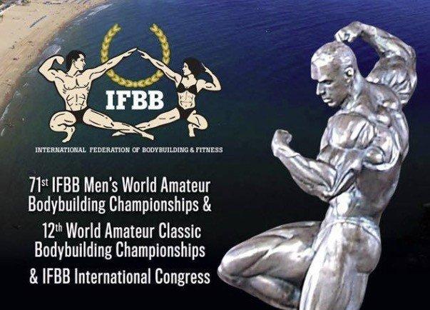 2017 IFBB World Amateur Bodybuilding Championships Competitors List