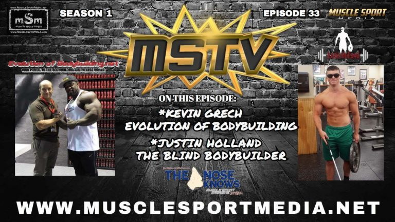 WATCH: Evolutionofbodybuilding.net's Kevin Grech interviewed by MSTV's Joe Pietaro
