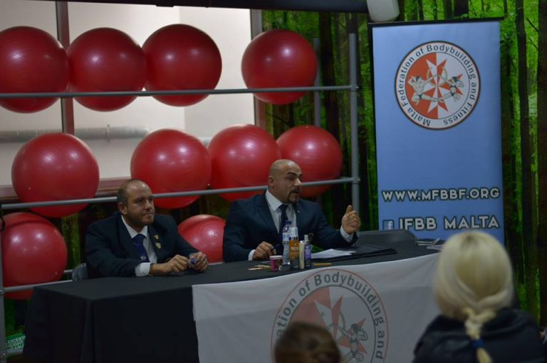 Malta Federation of Bodybuilding and Fitness 2018 Annual General Meeting