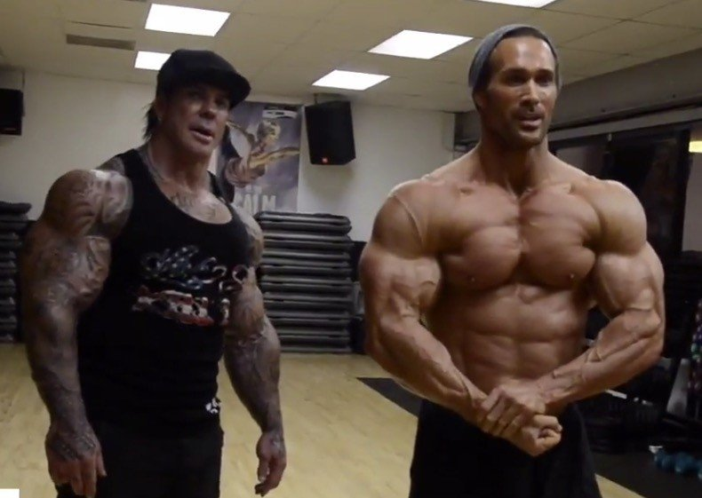looking back mike ohearn blasts arms with the late rich