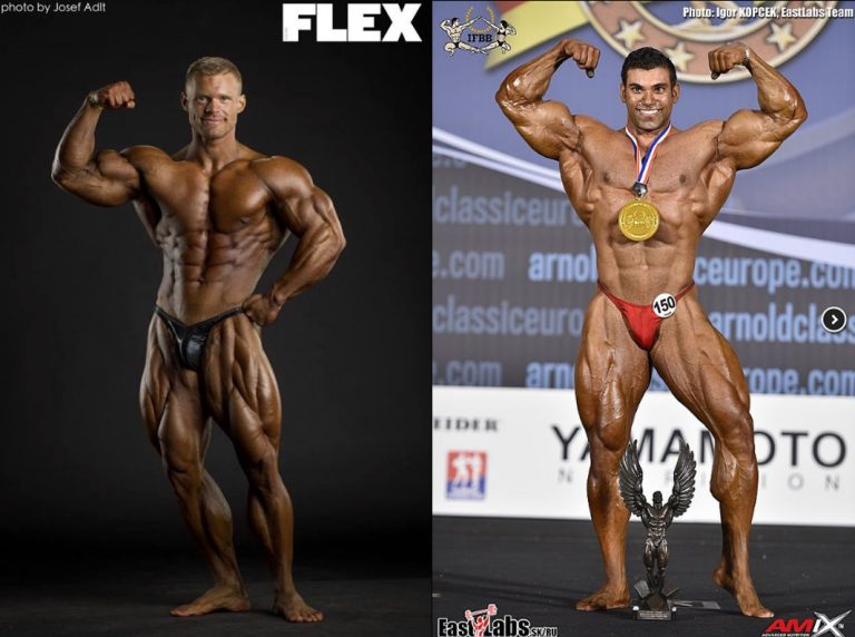 IFBB Elite Pro Men's Bodybuilding lineup looking fantastic for 2018
