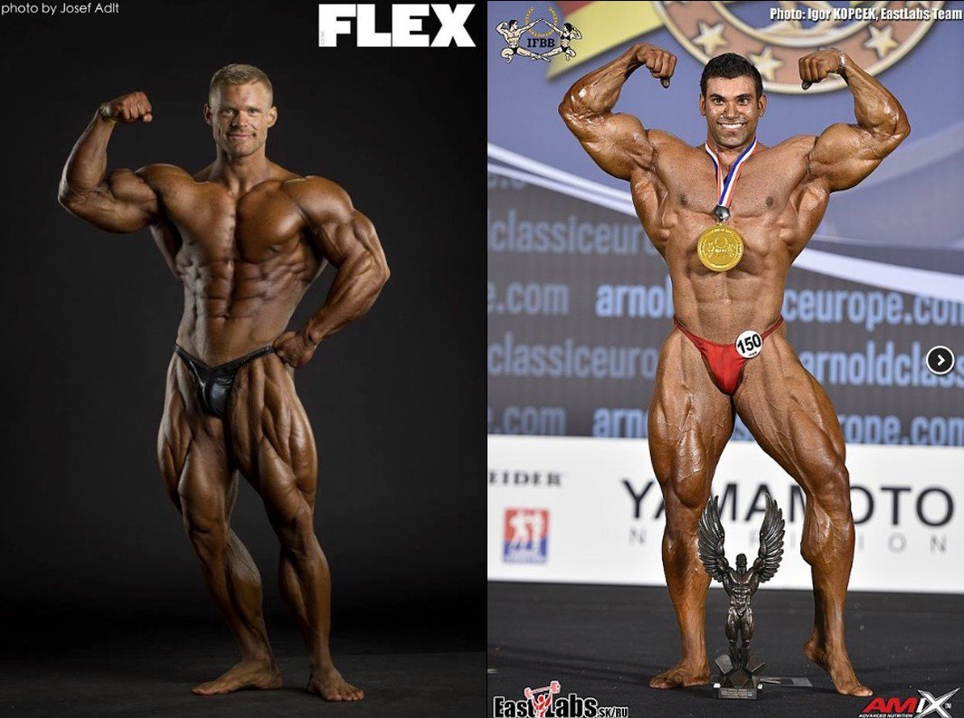 IFBB Elite Pro Men's Bodybuilding 2018 lineup