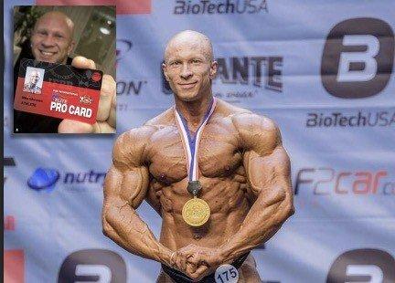 IFBB Champion bodybuilder Mika Sihvonen