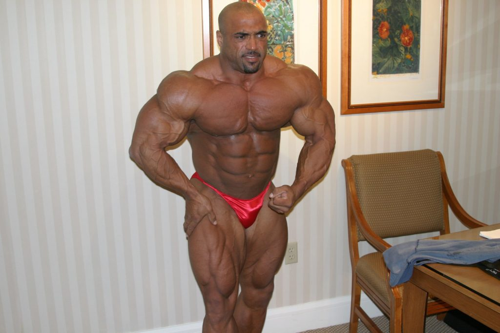 Dennis James 2004 Mr. Olympia