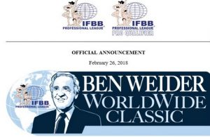 Ben Weider WorldWide Classic