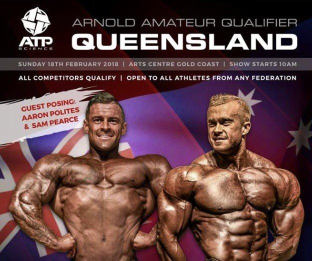 RESULTS: 2018 Arnold Classic Australia Qualifier - Queensland