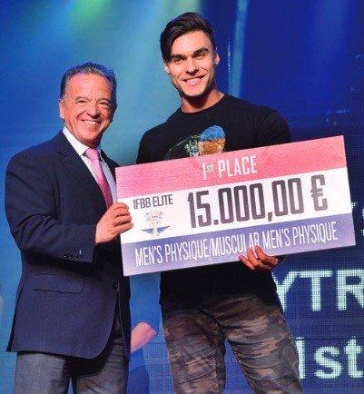 2018 IFBB WORLD RANKING ELITE - Cash prizes for the amateur
