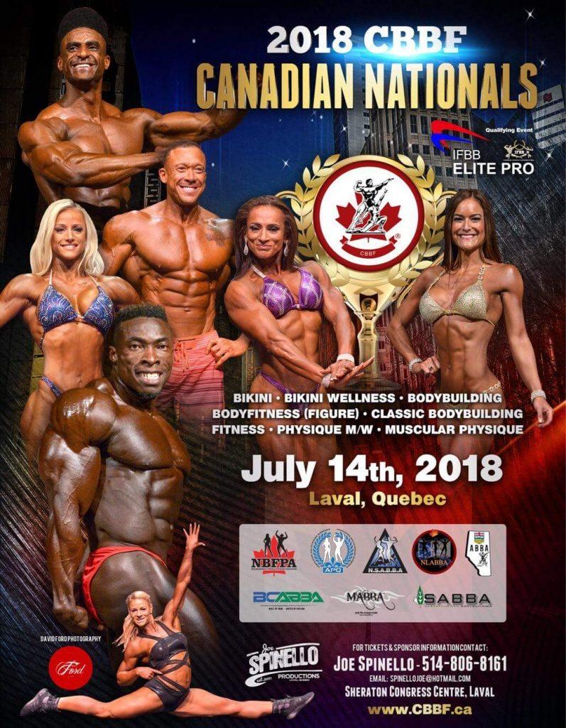 2018 IFBB Elite Pro Canada