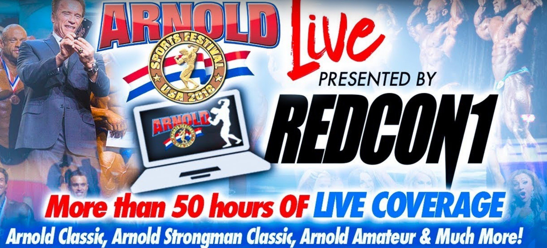 LIVE Streaming: 2018 Arnold Sports Festival