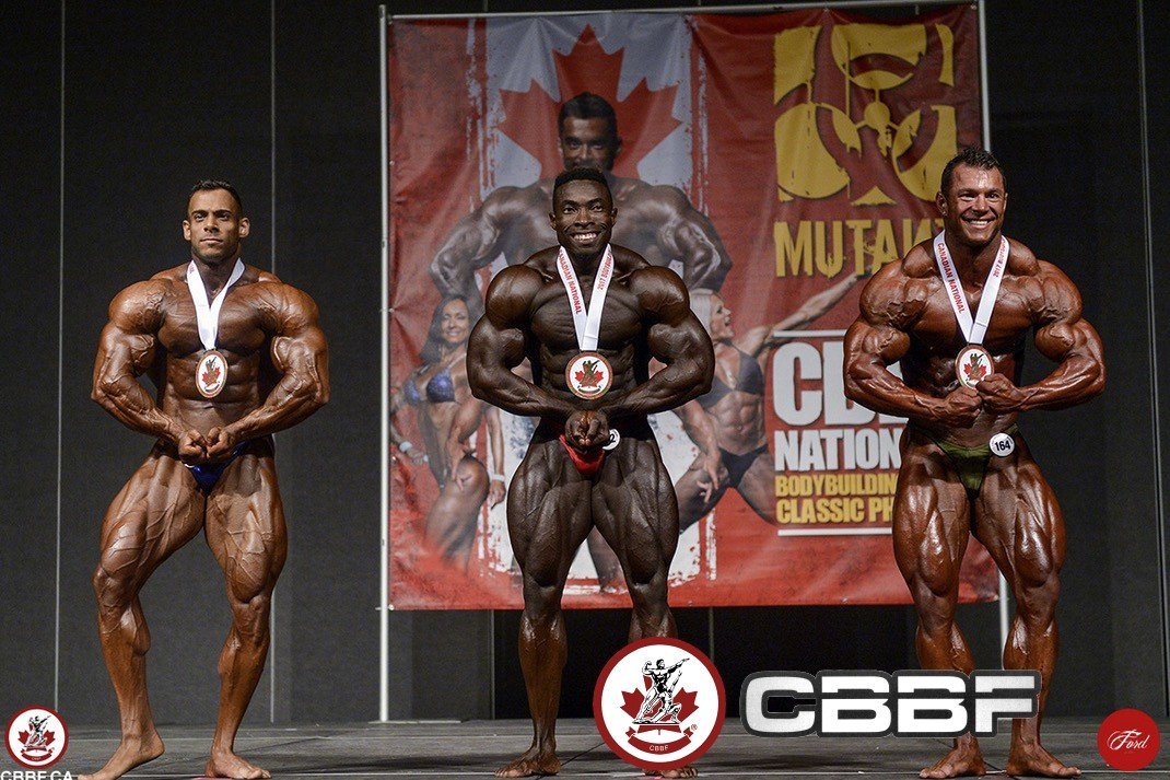 2018 IFBB Elite Pro Canada and CBBF contest schedule