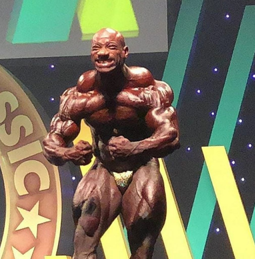Did Dexter Jackson