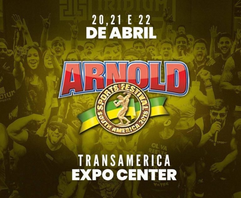 Over 700 athletes register for the 2018 Arnold Classic South America