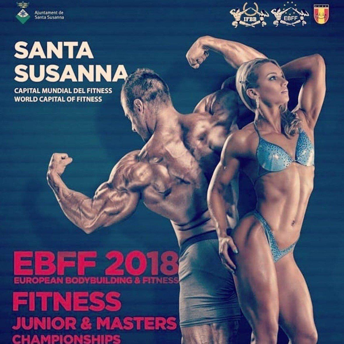 9805058c8b18e Official Competitors List: 2018 IFBB European Championships ...