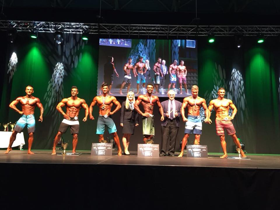 RESULTS/PHOTOS: 2018 IFBB Elite Pro - Slovakia