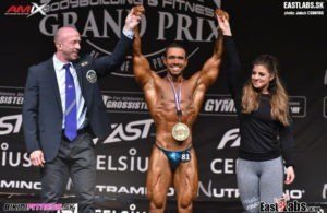 RESULTS: 2018 IFBB Sweden