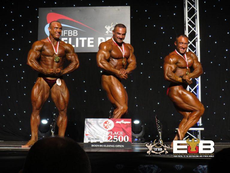 RESULTS: 2018 IFBB Elite Pro Malta – Tomas Kaspar wins the Men's Bodybuilding Open
