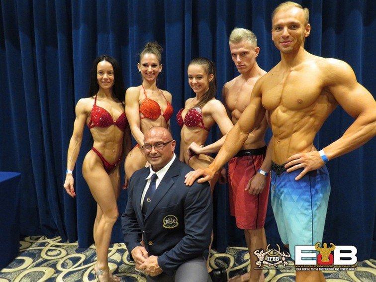 PHOTOS: IFBB Diamond Cup Malta Athlete Registration