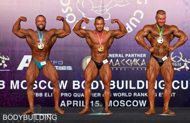 2018 IFBB Moscow