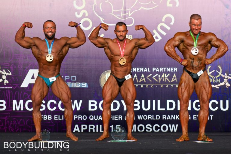 PHOTOS & RESULTS: 2018 IFBB Moscow Bodybuilding Cup