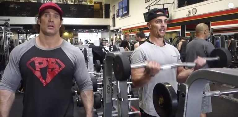 WATCH: NFL Arm Workout with Chiefs Wide Receiver Nelson Spruce and Mike O'Hearn