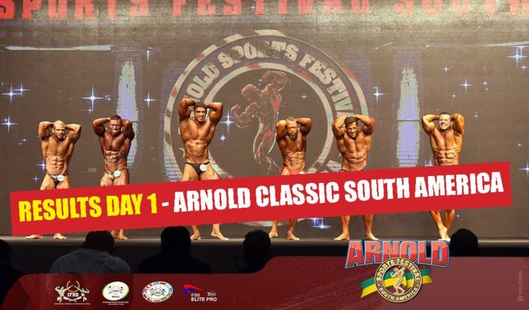 RESULTS: 2018 Arnold Classic South America –  Day 1