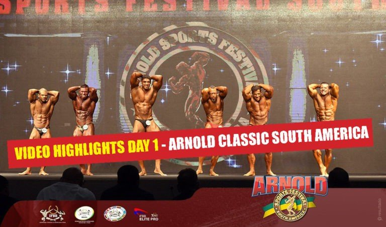 WATCH: Highlights 2018 Arnold Classic South America – Day 1