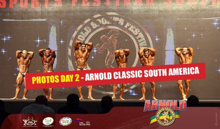 PHOTOS: 2018 Arnold Classic South America – DAY 2