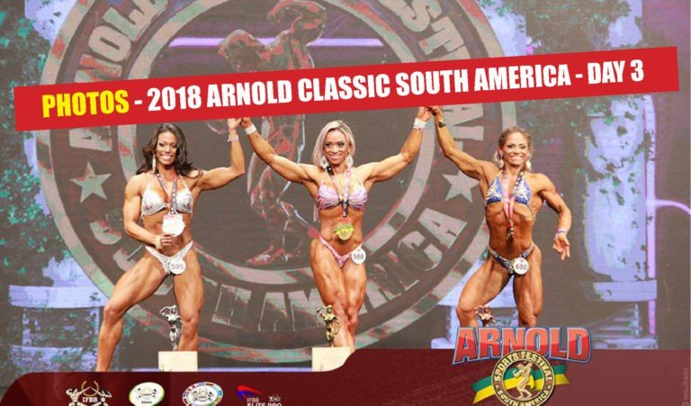 PHOTOS: 2018 Arnold Classic South America – DAY 3