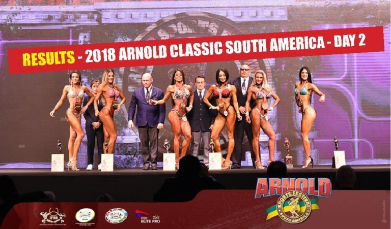 RESULTS: 2018 Arnold Classic South America – Day 2