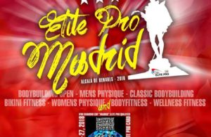 Official competitors list - 2018 IFBB Elite Pro Madrid