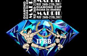 RUNNING ORDER: 2018 IFBB Diamond Cup Madrid