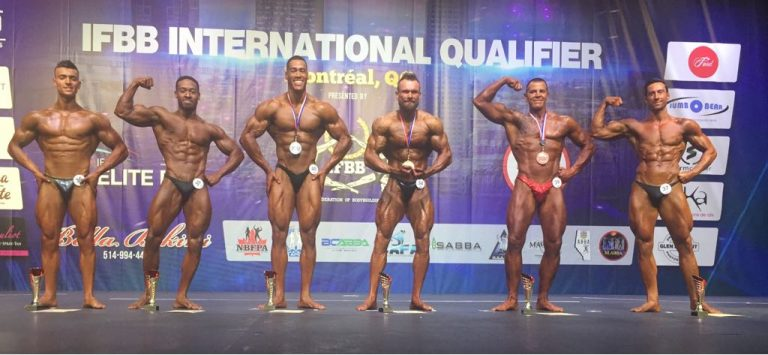 RESULTS & PHOTOS: 2018 IFBB Elite Pro Montreal Qualifiers