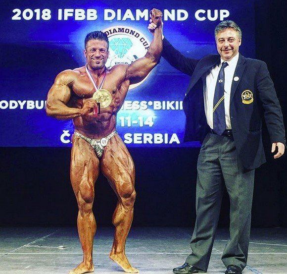 OFFICIAL RESULTS: 2018 IFBB Diamond Cup, Serbia