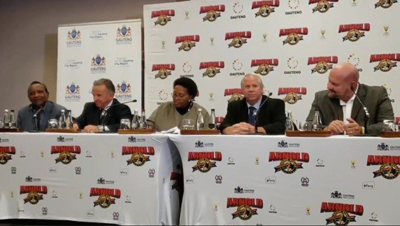 WATCH: 2018 Arnold Sports Festival Africa Press Conference