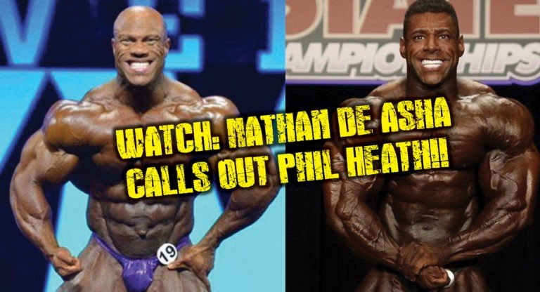 WATCH: Nathan De Asha sends message to Phil Heath… wants comparison at Olympia