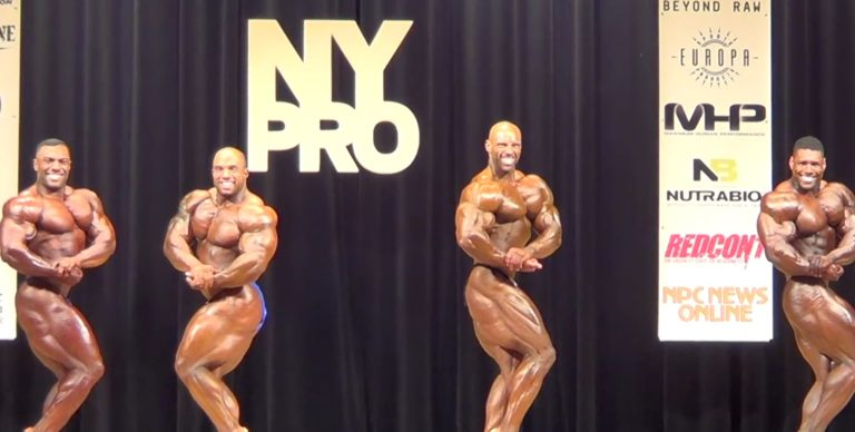 WATCH: 2018 New York Pro Bodybuilding Highlights