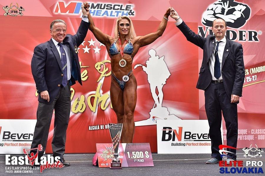 Adela Ondrejovičová dominates