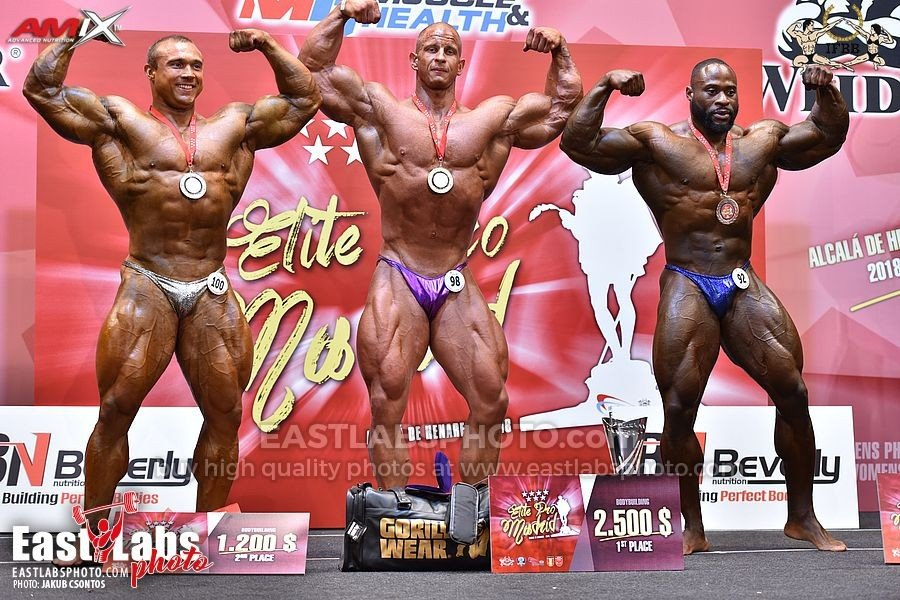 PHOTOS: 2018 IFBB Elite Pro Show - Madrid