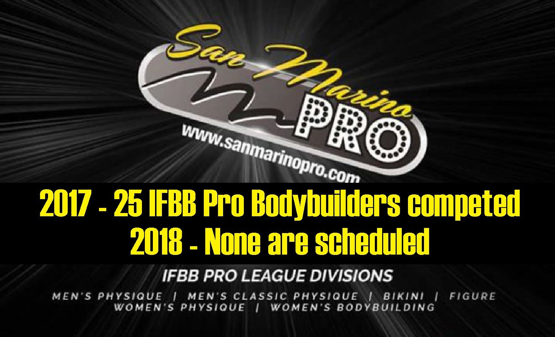 2018 IFBB Pro San Marino Pro